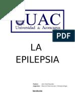 Trabajo La Epilepsia