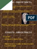 Terminologia de Gineco y Obstetricia