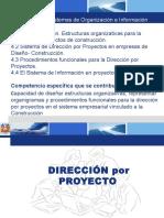 Curso Administración de Proyectos Subsistemas de Organización e Información
