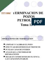 TEMA 13-1 - Terminacion