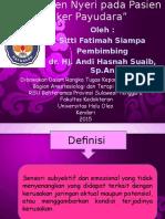 Manajemen Nyeri pada Pasien Kanker Payudara.ppt