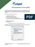 Declaración Informativa DIOT en Aspel-COI70