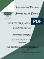 Generalidades de La Auditoria, Control Interno