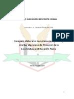 Instructivo de Titulación General 2015
