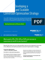 5 Steps Scalable Optimization