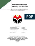 1. Sistem Proteksi Kebakaran Graha Pos Indonesia