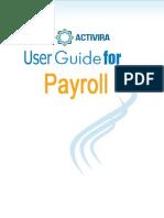 Payroll User Guide