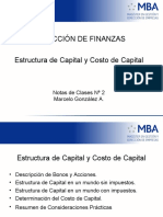Apuntes Estructura de Capital