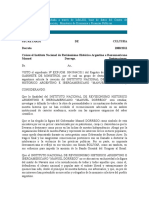 Decreto Creacion Instiuto Dorrego