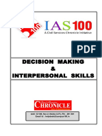Decision Making _ Interpersonal Skills