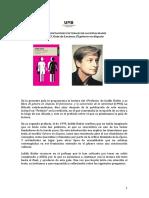 Judith Butler Guía de Lectura