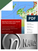 Clarkson Nanos Galloo Island Wind Farm Study