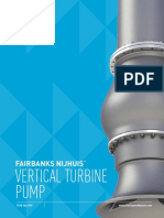 Vertical turbine fire pumps