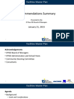 El Paso ISD Facilities Recommendations