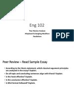 W.3.30 Eng102 PeerReviewAnalysis MisplacedDanglingModifiers Parallelism