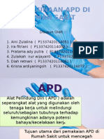 Penggunaan APD Di Rumah Sakit