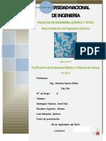 Lab 1 Purificación de Sustancias Solidas y Criterios de Pureza.docx