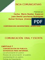 Competencia oral y escrita
