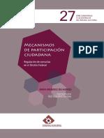 Mecanismos de participación