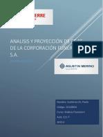 Analisis Financiero de la empresa Corporación Funeraria