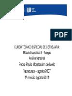 Análise Sensorial Adegas Rev 2011