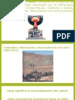 Nacionalización Del Cobre en Chile