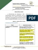 1 - EDITAL PPPG n 55 2015 PPGPP Retificacao Anexo 4 - Divisão Dos Textos Entre C&C