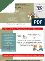 Proyecto de Cálculo III La Derivación de Funciones Vectoriales