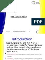 Web-Dynpro ABAP Ppt