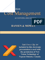 PPT on COST Management