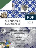 SULFUROS & SULFOSALES geoquimica