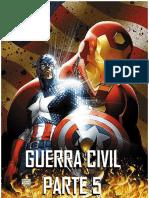 Guerra Civil 5 Marvel - Desconocido
