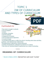 Presentation Curriculum Studies Topic 1