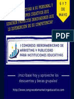 Congreso Iberoamericano de Marketing Educativo Flyer1