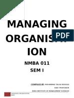 Managing Organization