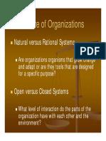 Organizational Design