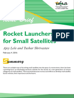 Ib Rocket Launchers for Small Satellites Alele.tshrivastav
