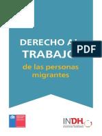 Cartilla de  Trabajo con el Migrante en chile 2015