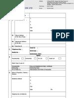 Reseller Registration Form_India