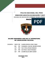 Legislacion Policial Pnp 2014