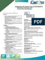 Análisis y Diagnostico de Pozos Con Levantamiento Artificial Por Gas Lif