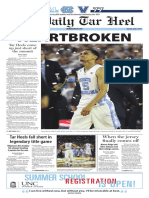 The Daily Tar Heel for April 5, 2016