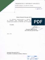 Adresarea AȘM către Nicolae Timofti