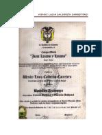 Certificados de Estudio