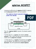 The Depletion NMOS Transistor