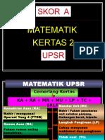 Seminar Matematik Upsr - Kertas 2