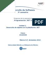 Unidad 1 Actividades de Aprendizaje Dprn2 u1