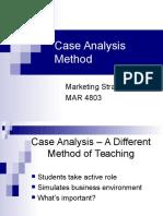 Case Analysis Method