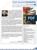 Market Access EU and No-EU countries Newsletter 2014 - tradoc_148334