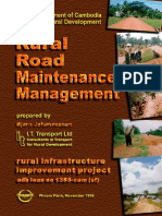 Rural Road Maintenance Manual_Cambodia
